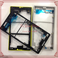 Black / White / Yellow Original New Front Middle Frame Faceplate Housing For Sony Xperia Z5 Compact / mini E5803 E5823