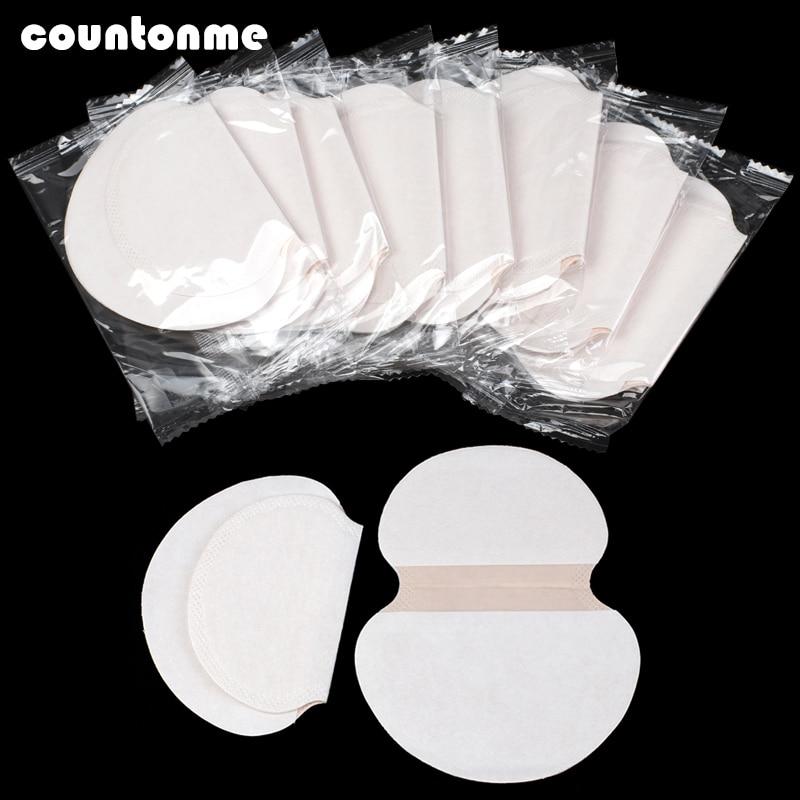 20/30/50pcs Unisex Sweat Pads Summer Deodorants Underarm Anti Perspiration Sweat Pads Disposable Armpit Absorb Sweat Shield Pad