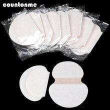 20/30/50pcs Unisex Suor Desodorantes Anti Transpiração Pads Verão Absorver O Suor Das Axilas Almofadas Suor Descartáveis pad escudo