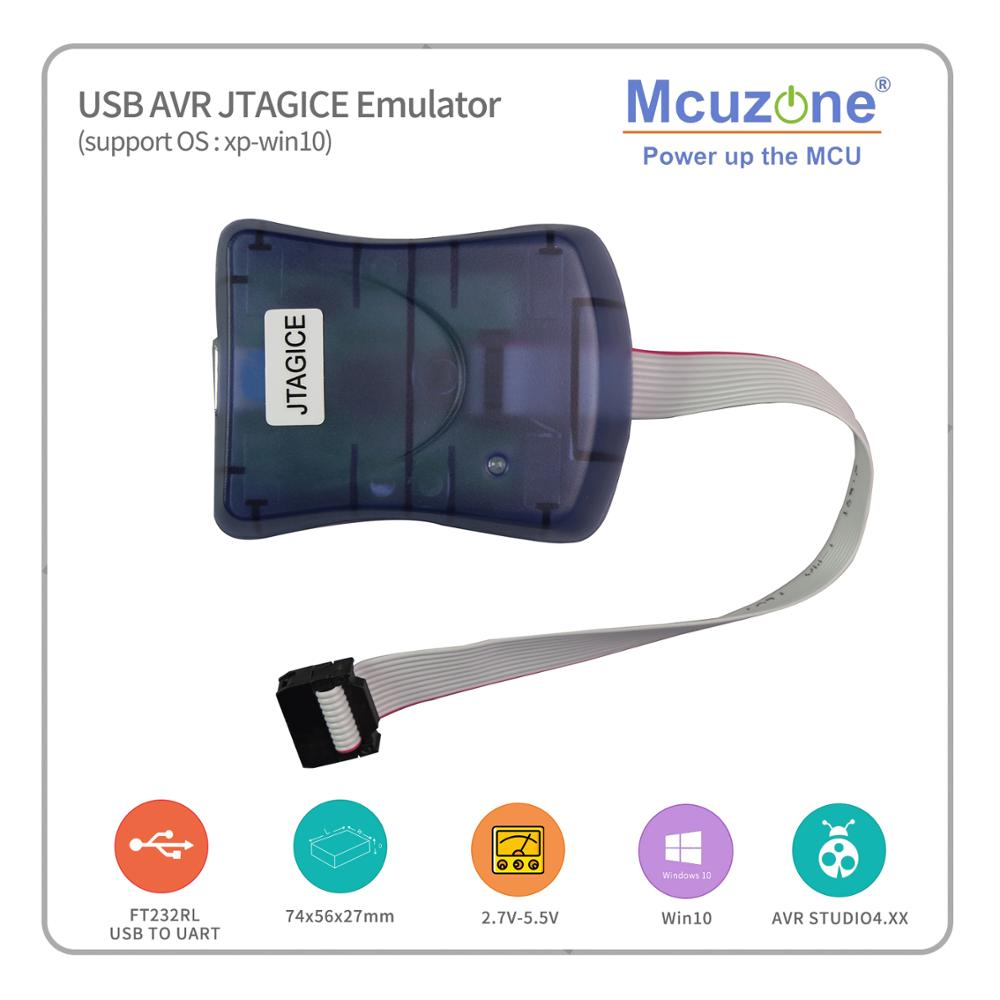Free Shipping ! USB AVR JTAG ICE Emulator Free ATMEGA16 Mini PCB  Board(1pcs Per Order) JTAGICE Mega169 Mega128 Mega64 Atmega32a