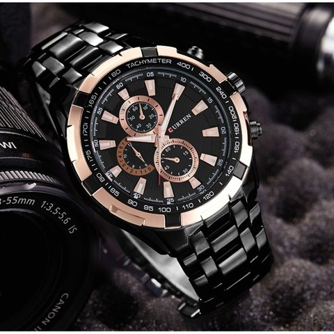 New SALE CURREN Watches Men quartz Top Brand Analog Military male Watches Men Sports army Watch Waterproof Relogio Masculino Lahore