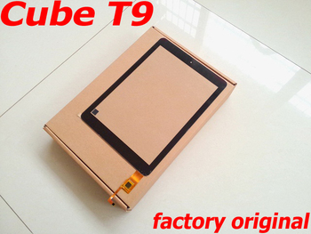 цена на New Original Touch Screen for Cube T9 Touchscreen 9.7 Front Panel Digitizer Glass Capacitive Screen for T9GT