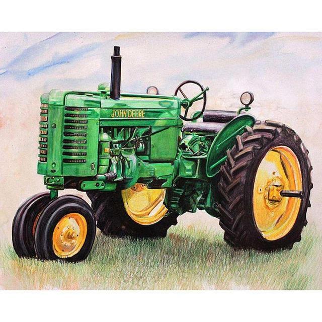 """Tractor """"John Deere"""""""