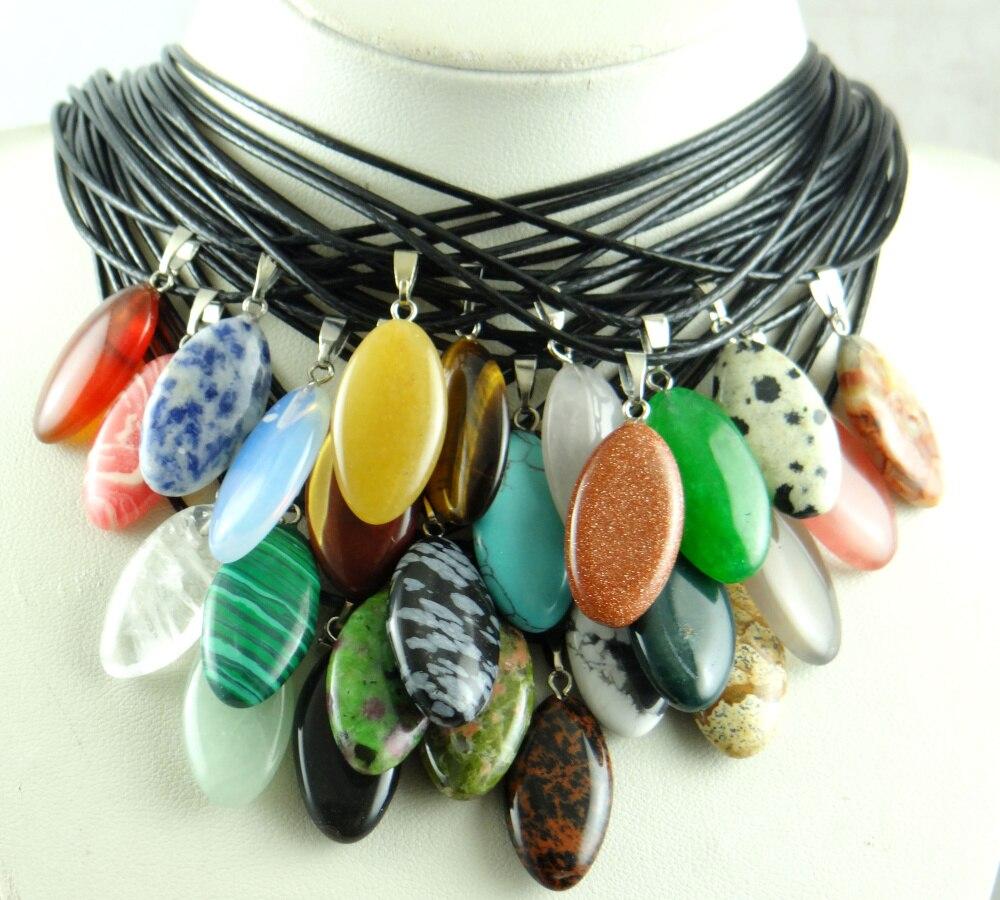 Натуральный камень, кристаллический кварц, lapis, Опаловая, бирюзовая, тигровый глаз, для самостоятельного изготовления ювелирных изделий, подвесок, ожерелье, аксессуары Подвески      АлиЭкспресс