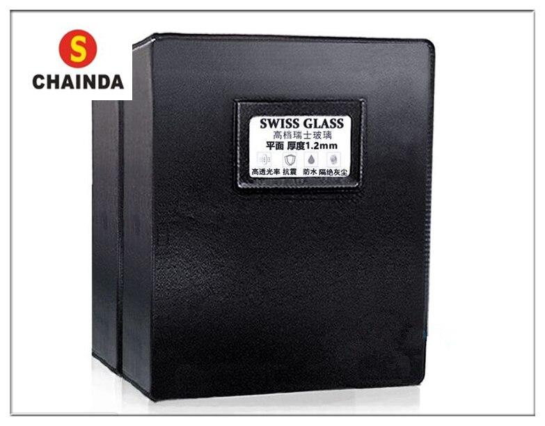 купить Free Shipping 1 Set 1.2mm Plane Round Mineral Watch Glass for Watch Repair по цене 3053.09 рублей