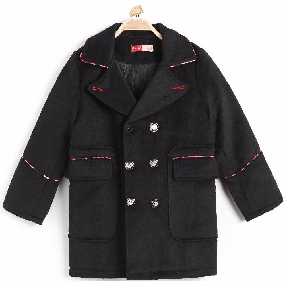 Padded Cotton Jacket Button Gentlemen Suit for Children School Wear Collar Thermal Outerwear Warm Winter Blend Casual Clothing ремни lee ремень gentlemen