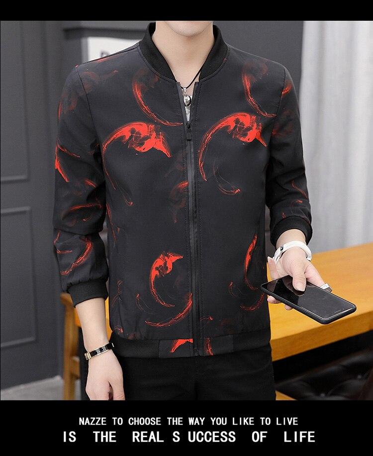 HTB1AAKiXvfsK1RjSszbq6AqBXXa0 Printing Fashion 2019 Brand Mens Bomber Jacket Thin Men Baseball Jackets Casual Jacket Coat Overcoat For Male Clothing