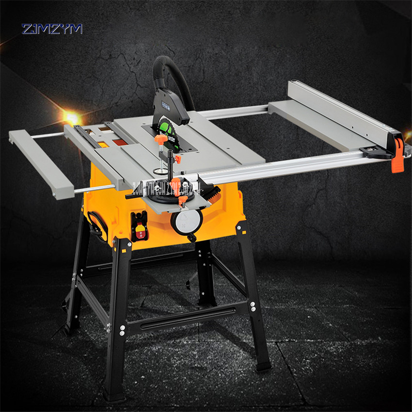 10 inch table saw multifunctional woodworking table saw cutting machine power tool panel saw dust-free power saw M1H-ZP2-250G women fashion dress casual solid color chiffon high waist double chiffon short skirt puff pleated big swing half skirt l05