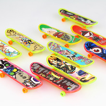 7 Pieces Small Toys Wholesale Finger Scooters Skateboards Style And Color Random Send Kids Toy Birthday