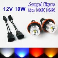 2 Pieces 1 Set 2 5W 10W Bridgelux Chip LED Marker Angel Eyes White Blue Red