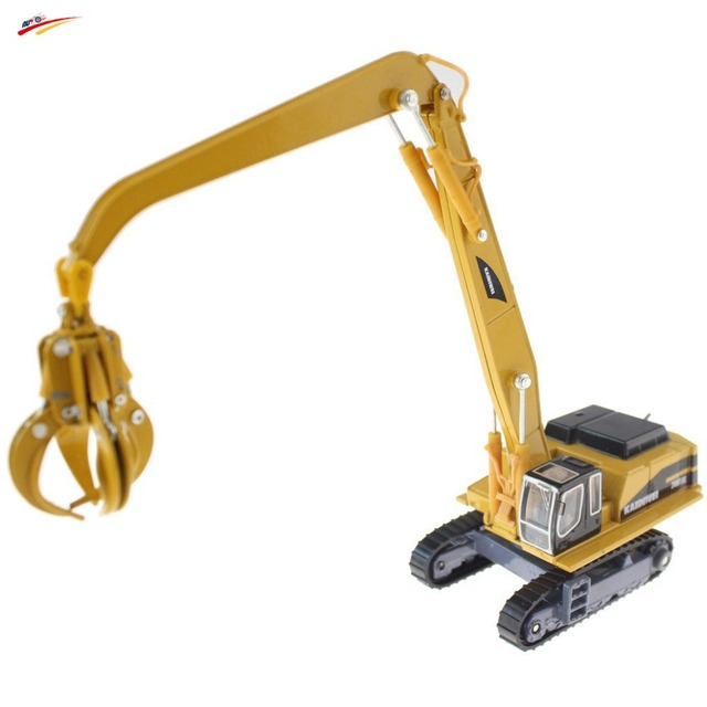 Alloy 1:87 Material Handler Diecast  Detachable Claw and Magnetic Chuck Model