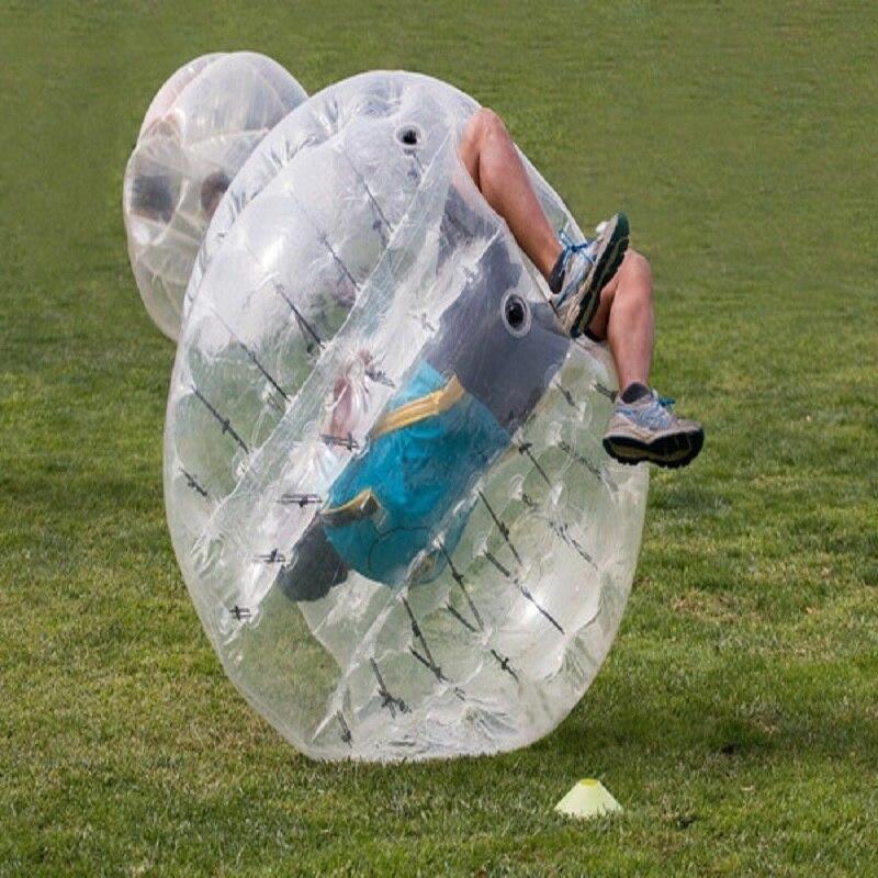 الوفير الكرة 1.8 متر حجم 0.8 مم TPU مادة فقاعة الكرة تستخدم للعب في الهواء الطلق الرياضة لعبة نفخ zorb