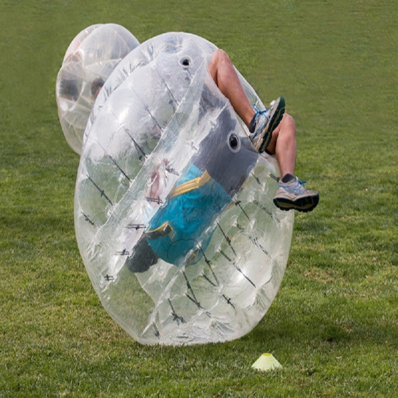 bumper ball 1.8 M size 0.8 mm TPU material bubble ball use for outdoor play sport zorb inflatable game