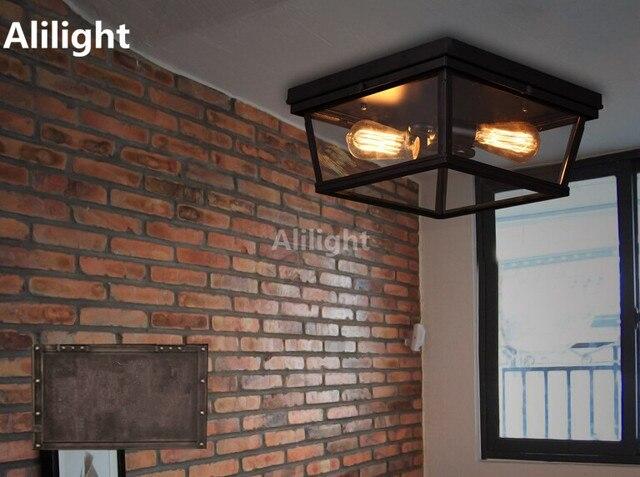 Stile mediterraneo luci lampada tiffany plafoniere balcone