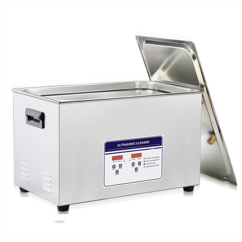 30L 100S 120W-600W Ultrasonic Cleaner Heater Timer Bath Adjustable Industry Ultrasonic Cleaning Machine ship from germany stainless steel 15l ultrasonic cleaner industry heater heated cleaning with timer