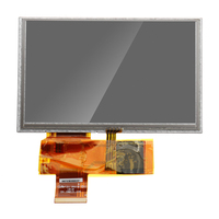 5 inch LCD Display RTP 800*480 Resolution With 4 wire Resistive Touch Screen Module