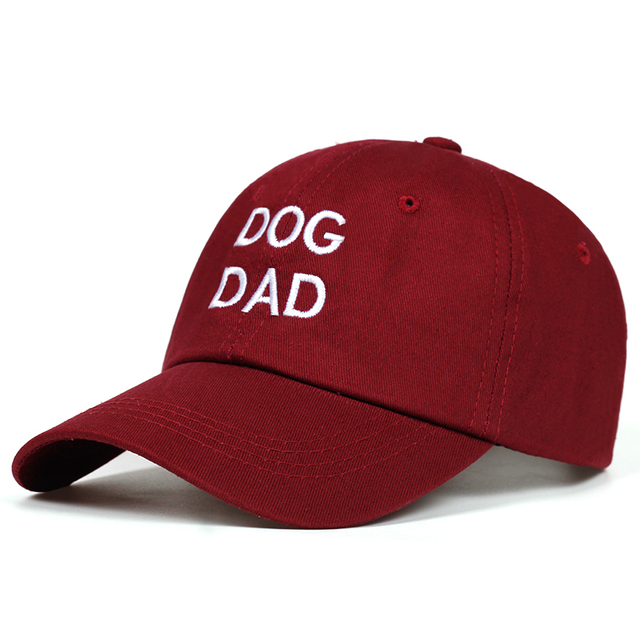 Casual Cotton Dog Patterned Cap