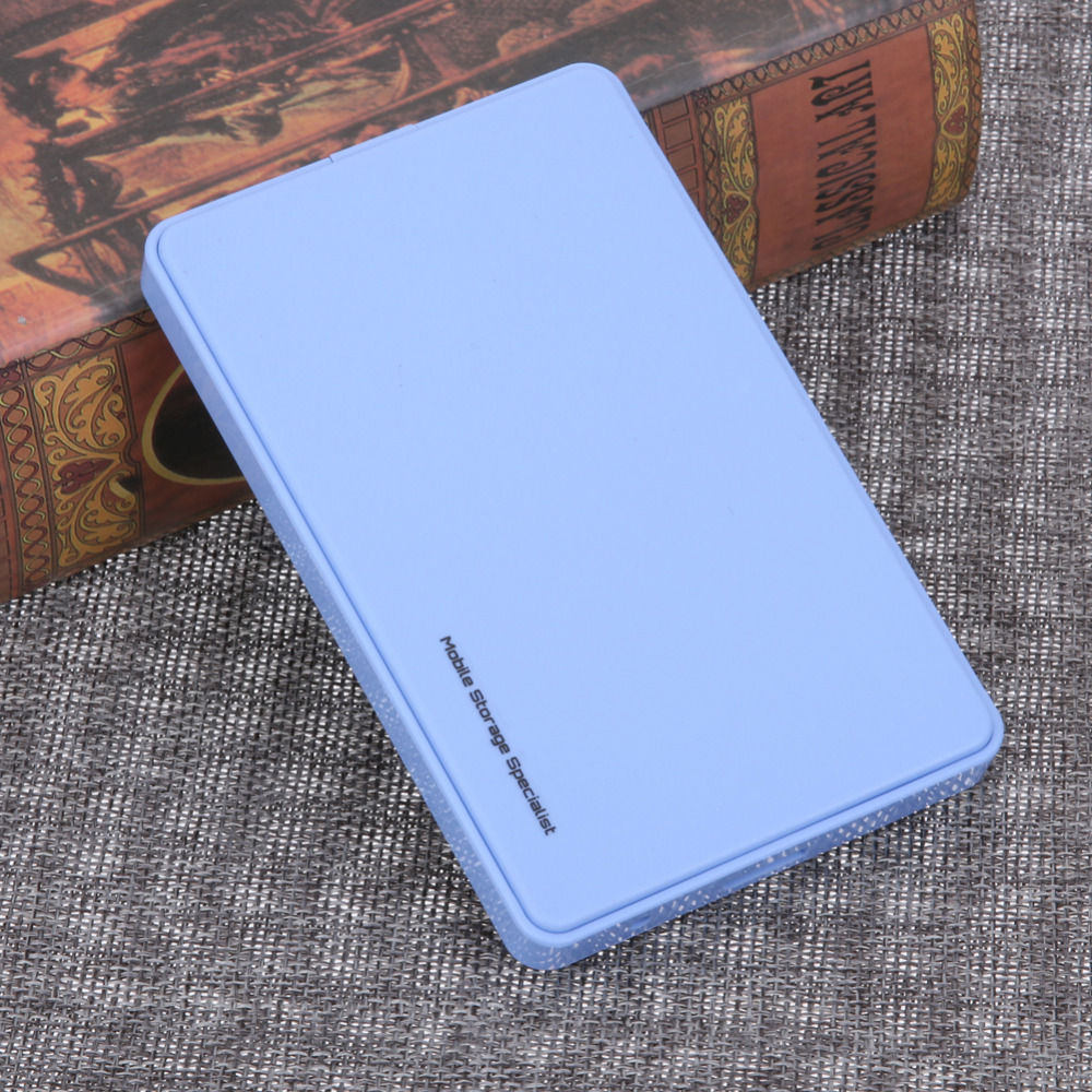 HDD Case 2.5 Inch USB 3.0 SATA Hard Drive Disk Hdd Box Up to 2TB Hard Drive External Enclosure Blue Case with USB Cable high speed usb 2 0 hard disk drive enclosure case for 2 5 sata hdd blue max 2tb
