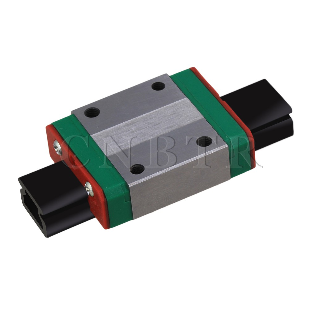 CNBTR 10mm Thick 35mm Length Linear Guide Rail Sliding Block MGN12C cnbtr 8mm thick 30mm length linear guide rail sliding block mgn9c