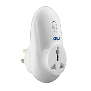 Image 2 - 5pcc/lot Kerui S71 Wireless Standard Smart Switch Socket 433MHz for Home Security Alarm System