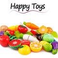20 unid/set cortar vegetales de frutas pretend play niños niños educativo toys classic tiene cada familia kitchen toys