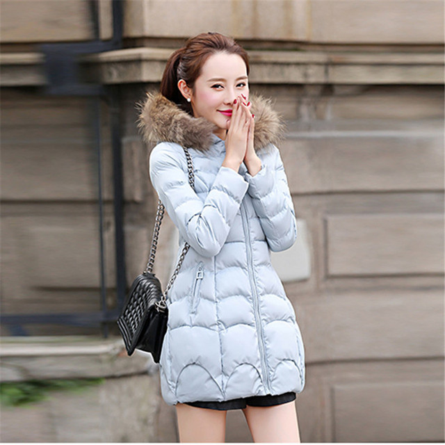 2018 The new Korean version of the long style cap coat FF104