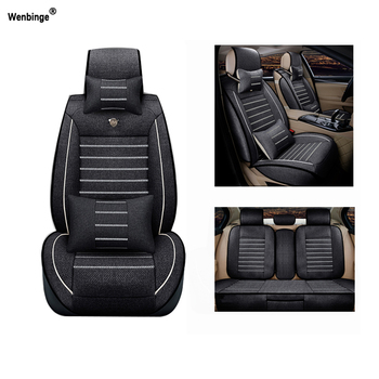 Breathable car seat covers For SsangYong Korando Actyon Rexton Chairman Kyron car accessories car-styling auto stickers