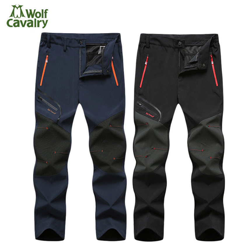 Hiking Pants Men Spring Outdoor Waterproof Quick dry pant breathable Trousers for Camping mountain trekking