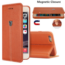 XUNDD Genuine Leather Wallet Cover Flip Case For iPhone 7 Plus 6 6S Plus 5 5S SE Phone Case Stand Case For Samsung S7 Edge