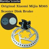 Original Xiaomi Mijia M365 Electric Smart Scooter Disk Brake Disc Rotors Pads Base Seat Clip Replacement