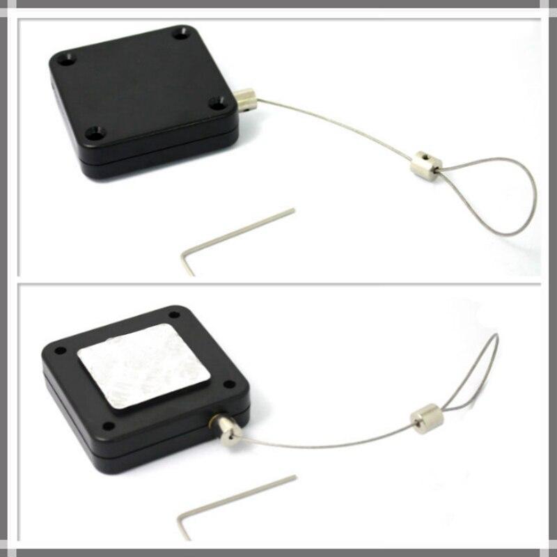 10 pcs 1 m Fio Retrátil Anti-roubo de Caixa De Tração do Cabo Para HTC VIVA Suporte Automático Take-up linha Winder Cabeça VR Especial Receptor