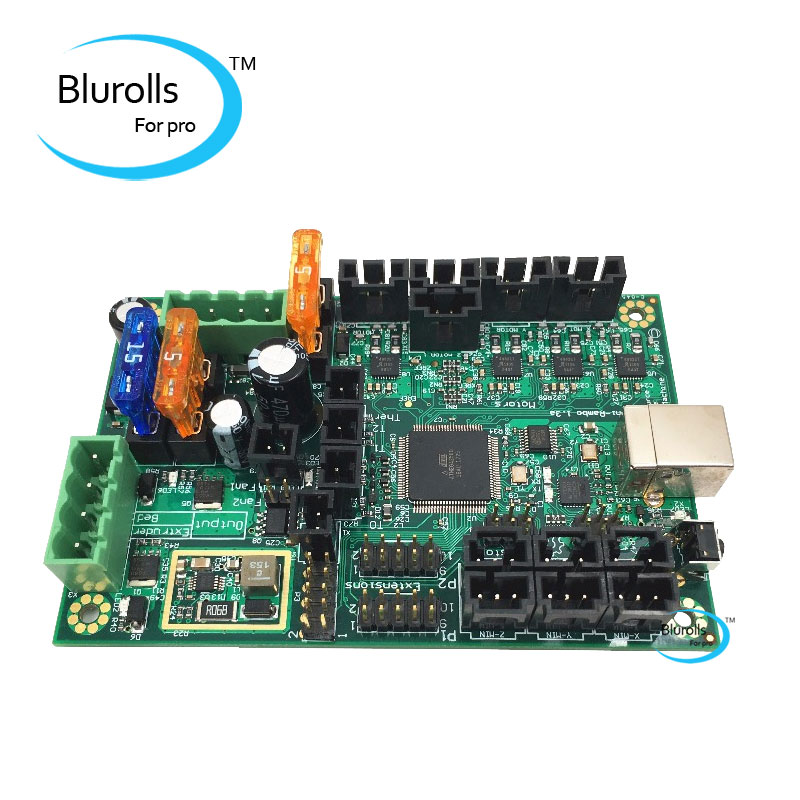 Mini-Rambo 1.3a carte mère pour Prusa i3 MK2 3d imprimante conçu par Ultimachine