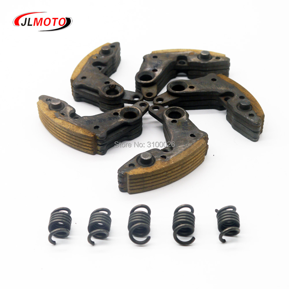 1SET/5PCS Drive Clutch Pads With Spring Fit For CF MOTO CF500 500CC CF625 ATV UTV Go Kart Quad Bike Parts OEM 0180-054200 cf188 voltage regulator rectifier cf moto 500 cf500 500cc utv atv go kart 12v 0180 151000