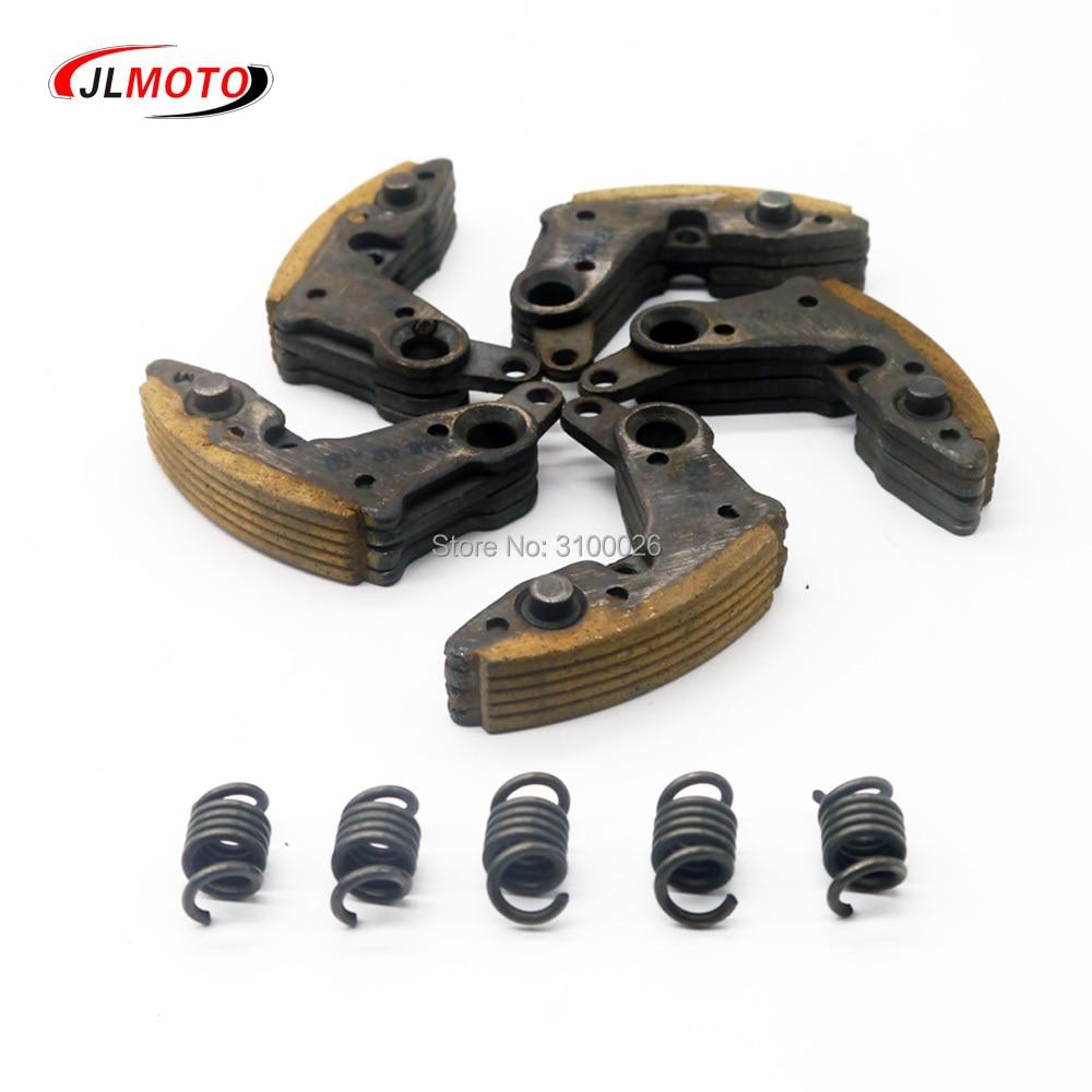 1SET/5PCS Drive Clutch Pads With Spring Fit For CF MOTO CF500 500CC CF625 ATV UTV Go Kart Quad Bike Parts OEM 0180-054200