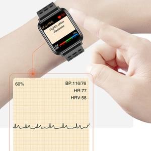 "Image 3 - KAIHAI H69 אק""ג PPG SpO2 HRV כושר בריאות חכם שעון גברים אלקטרוני לחץ דם מדידת קצב לב צג smartwatch"