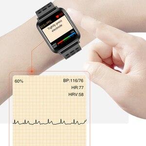 Image 3 - KAIHAI monitor aktywności fizycznej ekg PPG SpO2 inteligentna bransoletka opaska na nadgarstek pomiaru ciśnienia krwi tętno dla android ios