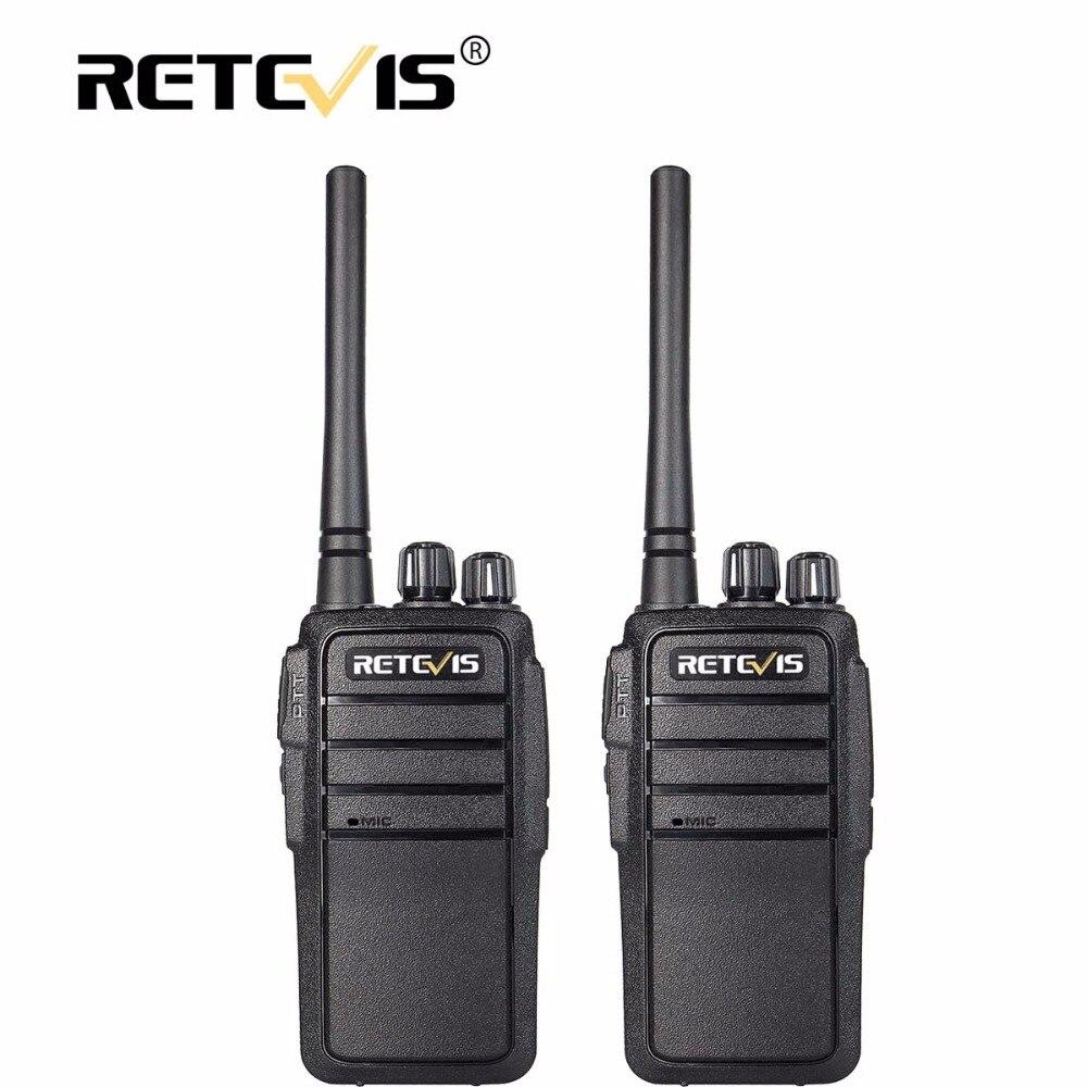 2 pcs Talkie-walkie Portable Retevis RT21 2.5 w UHF VOX Brouilleur Radioamateur Émetteur-Récepteur Hf 2 Voies Radio comunicador Marcher Parler