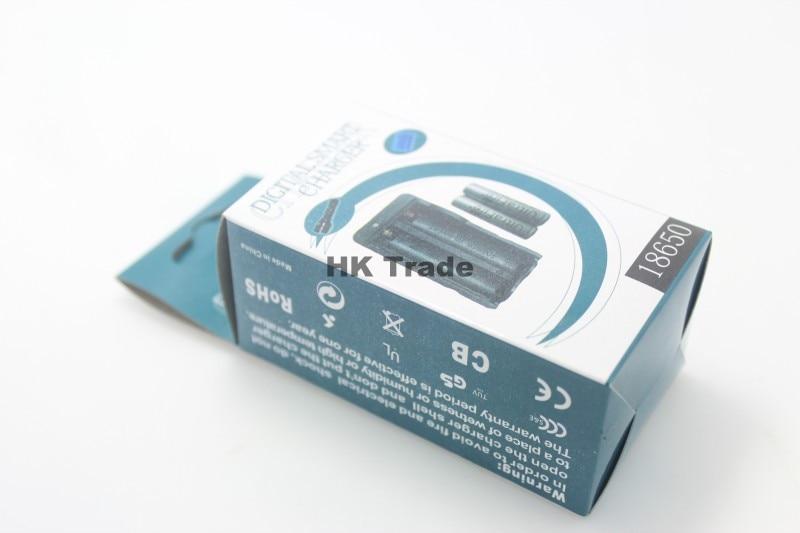 18650 литий-ионная батарея интеллектуальная Двойная Батарея Беспроводная с защитой от перегрузки умное дорожное зарядочное устройство