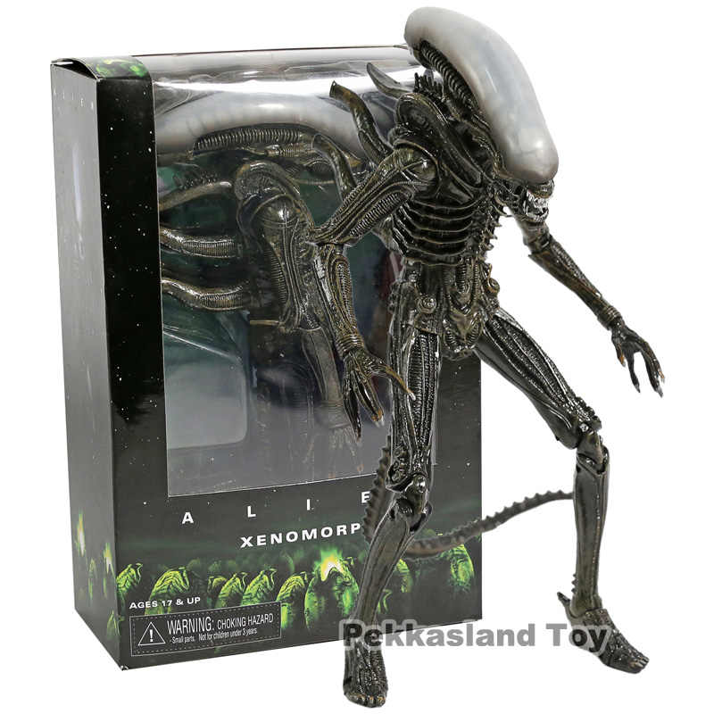 Neca Alien 1979 Xenomorph PVC Action Figure Collectible Model Mainan