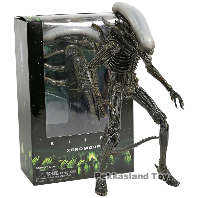 NECA Alien 1979 Xenomorph PVC Action Figure Collectible Model Toy