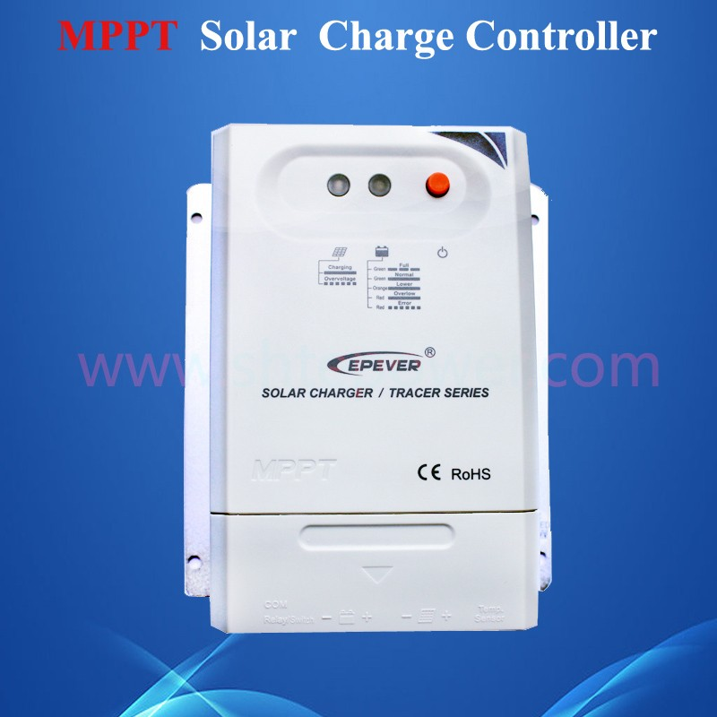 Epsolar 20A MPPT Solar Charge Controller 12V 24V  EPEVER TRACER Solar Panle Battery Charge Regulator 2210CN 20a 12 24v solar regulator with remote meter for duo battery charging