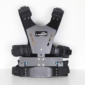 Image 2 - DF DIGITALFOTO LAING 5kg ayı Video kamera Steadicam sabitleyici ZHIYUN vinç 2 3 axis Gimba çift destek kolu ve yelek