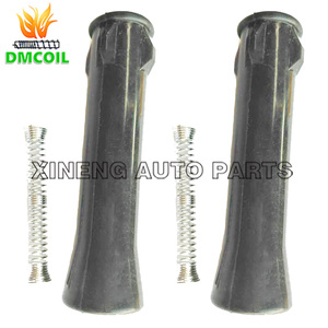 Image 1 - 2 PCS IGNITION COIL RUBBER BOOTS ADAPTER BETWEEN COIL AND SPARK FOR ROVER 360 MG 3 5 GT ZS ZOTYE T600 1.3L 1.5L 1.5T NEC000120A
