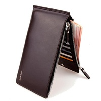 The New Card Package Wallet Men S Men S Wallet Phone Package Ultra Thin Double Zipper