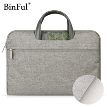 Binful Laptop Bag Case for MacBook Air Pro 11.6 12 13.3 15.4 Waterproof Notebook