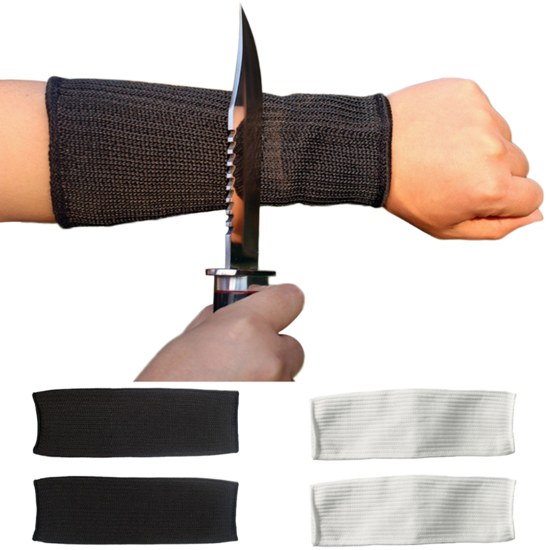 New Hot Wrist Wrap Cut Safety Arm Sleeve Anti Steel Wire Metal Cutting Work Labor Protection 2018 Women Men Safety Gloves