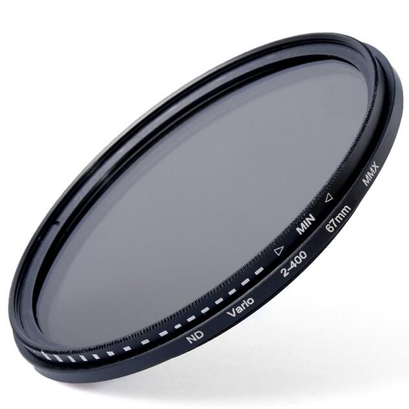 37 46 49 52 55 58 62 67 72 77 82mm Fader ND Variabile Lens Filtro a Densità Neutra ND2 ND8 ND16 a ND400