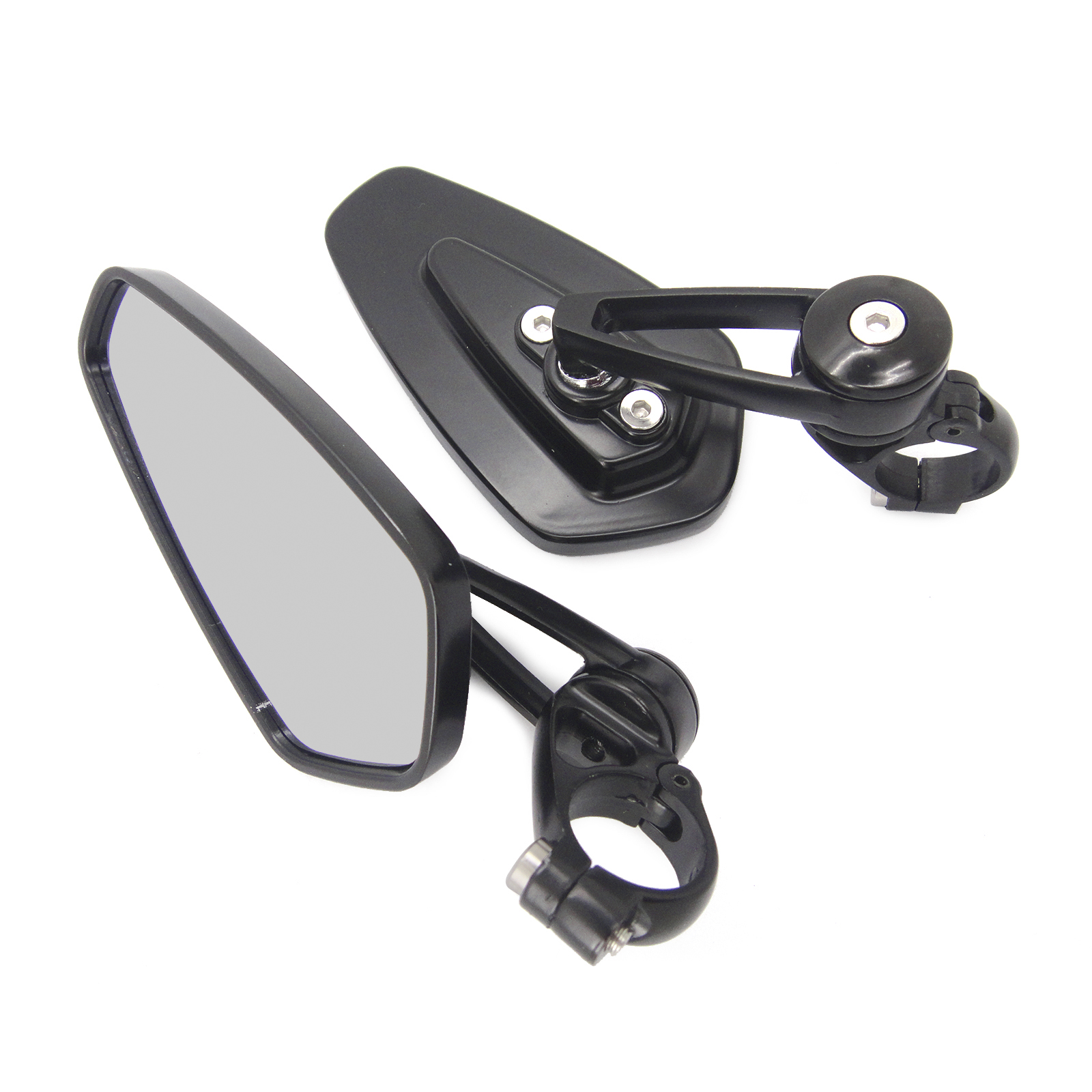 Universal Motorcycle Moto 7/8 22mm Handle Bar End Rearview Side Mirror Motorbike Scooters Rearview Mirror Side View Cafe Racer projector lamp lmp e190 for sony vpl es5 vpl ex5 vpl ew5 vpl ex50 with housing top 200w hscr200y12h