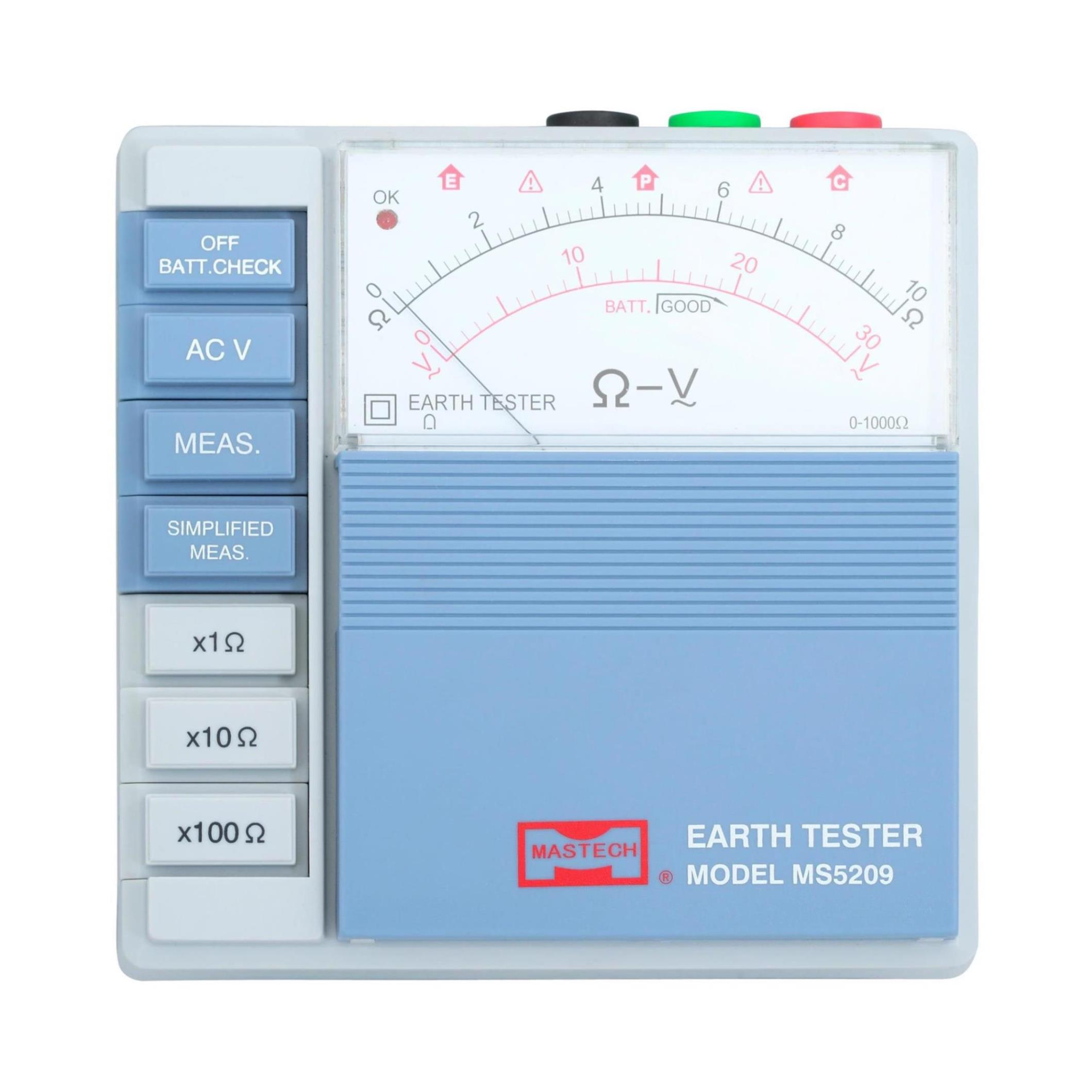 MASTECH MS5209 Earth Resistance Tester Meter 10ohm to 1000ohms evgeniy gorbachev returning to earth research