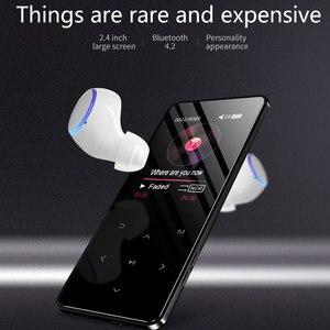 Image 4 - BTSMONE Bluetooth 4.2 Mới Phiên Bản Màn Hình Cảm Ứng MP3 Cầu Thủ 40G Tích Hợp Trong Loa HIFI Lossess Âm Thanh Di Động MP3 người Chơi Có FM